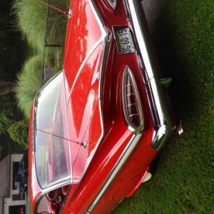 my just restored 59 factory original  348/tripower/4spd impala